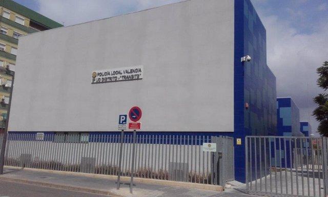 Retén de la Policía Local de València
