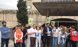 """En Marea, PSdeG y BNG rechazan la reforma de la ley sanitaria que crea """"hospitales de segunda"""""""