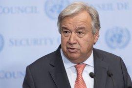 Guterres hace un llamamiento a favor del fin de las diferencias políticas en Palestina