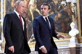 """Macron dice que tiene """"grandes diferencias"""" con Putin sobre Ucrania: """"No se saldrá con la suya"""""""