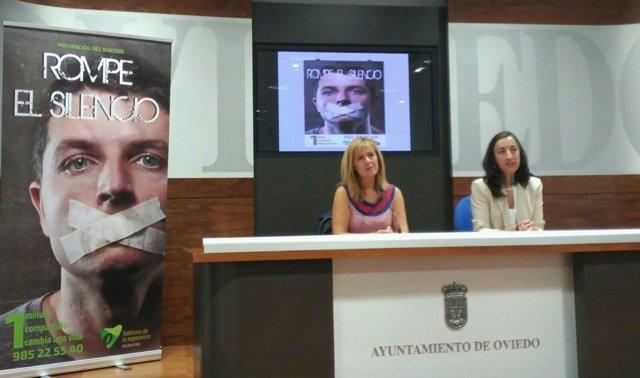 Presentación campaña de prevención ddel suicidio.