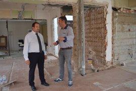 La DPT concluirá este año la reforma de la tercera planta del palacio provincial