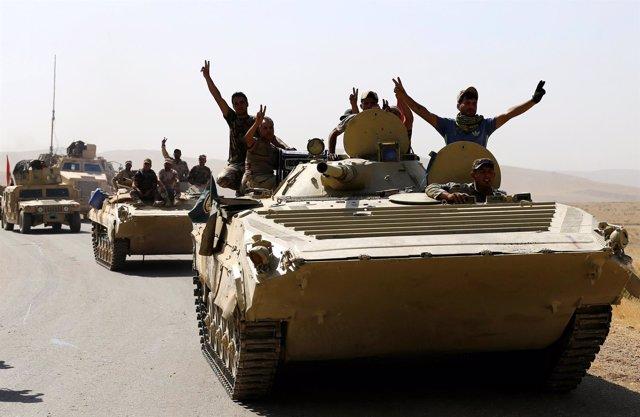 Fuerzas iraquíes en Tal Afar