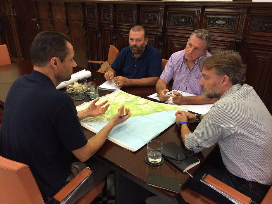 Foto: Reunión del grupo de trabajo para la restauración de la zona del incendio de Doñana (JUNTA DE ANDALUCÍA)