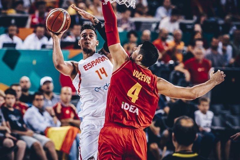 España abre el Eurobasket destrozando a Montenegro (99-60)