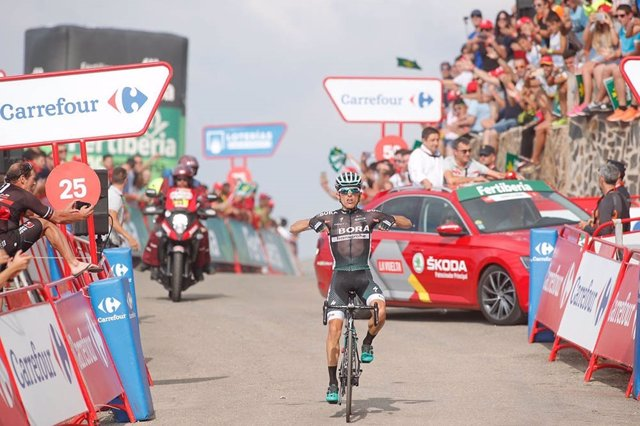 El ciclista polaco Rafal Majka