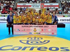 El Rocasa Gran Canaria ACE conquista la Supercopa de balonmano femenino