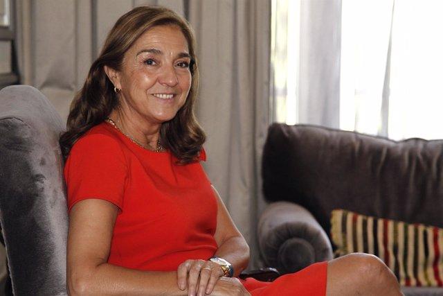 La secretaria de Estado de I+D+i, Carmen Vela, en una entrevista con Europa Pres