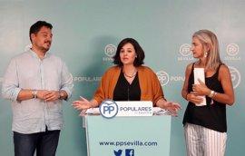 """PP ve """"un caso de Cuarto Milenio"""" que la Junta anuncie la retirada de 34 caracolas en Sevilla y """"solo presupueste tres"""""""