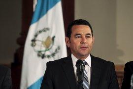 Jimmy Morales asegura que siempre ha defendido el estado de derecho después de que la Corte autorizara su antejuicio