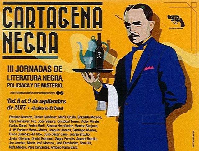 Cartel III Edición de Cartagena Negra