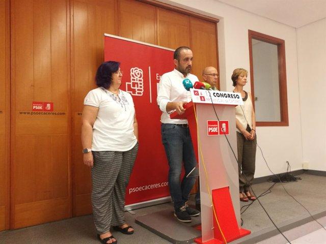 Eduardo Béjar coordinador de las primarias del PSOE de Cáceres
