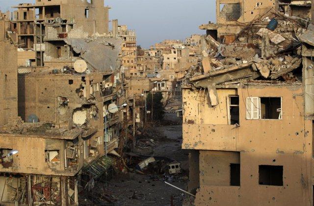 Ciudad de Deir Ezzor, Siria