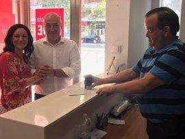 Antonio Ruiz presenta su precandidatura a la Secretaría General del PSOE de Córdoba