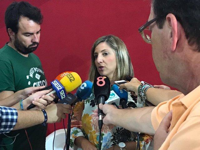 Irene García Presenta Su Pre Candidatura A La Secretaría General Del Psoe De Cád