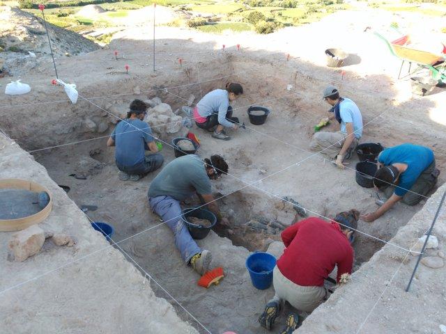 Escavación arqueológica
