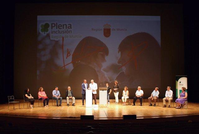 Celdrán, en la presentación de la iniciativa 'Fila Cero'