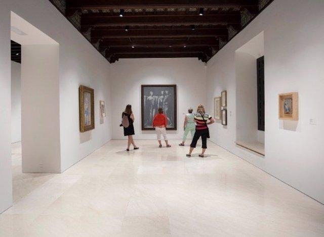 Museo Picasso Málaga arte cultura pintura escuela londres sala pinacoteca