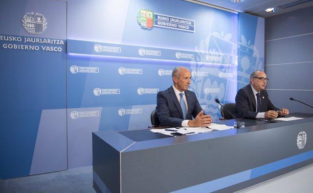 Rueda de prensa celebrada tras el Consejo de Gobierno