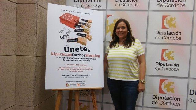 Carrillo presenta la convocatoria de adhesión a 'Córdoba Shopping'