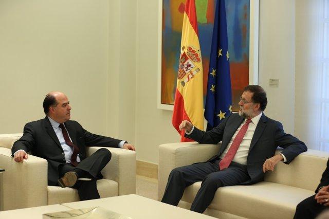 Rajoy recibe en La Moncloa a Julio Borges