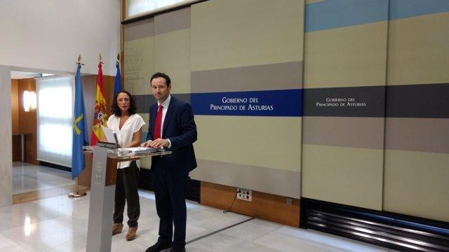 Guillermo Martínez y Melania Álvarez.