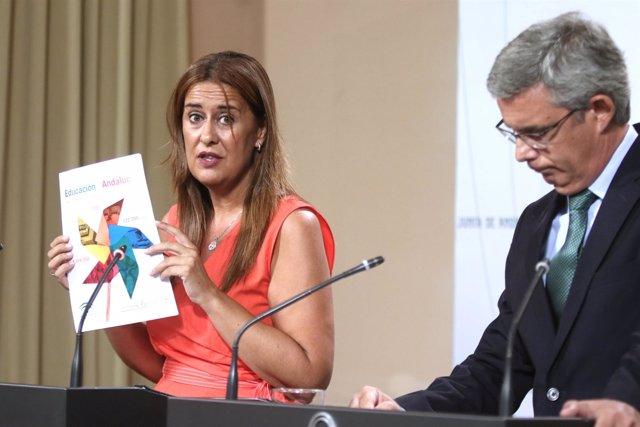 La consejera andaluza de Educación, Sonia Gaya, presenta el inicio de curso