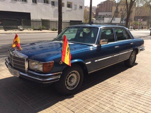 Mercedes-Benz 450 SEL del Rey Juan Carlos