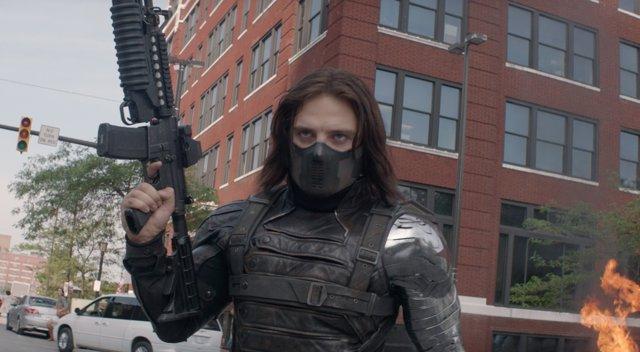 El Soldado de Invierno en Capitán América