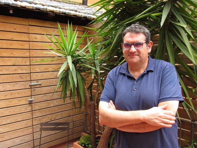 El escritor Jordi Puntí