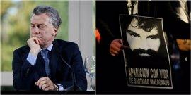 """Macri sobre el caso Maldonado: """"El Estado argentino está trabajando y colaborando con la justicia"""""""