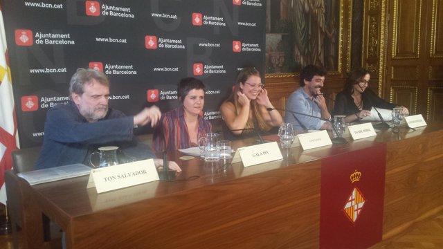Ton Salvadó, Gala Pin, Janet Sanz, Daniel Mòdol e Itziar González