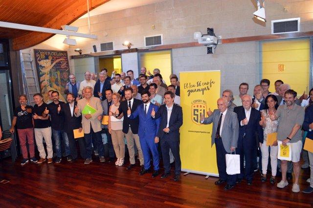 La Asamblea Del Comité Olímpico De Catalunya