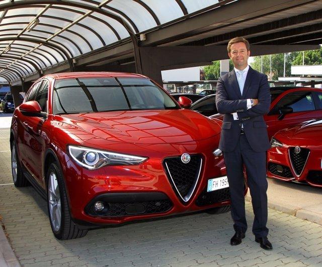 Víctor Sarasola, nuevo director general de Alfa Romeo y Jeep España