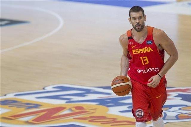 Marc Gasol selección española España