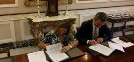 Diputación de Cádiz y UCA firman un convenio para completar la estancia de becas Erasmus de 420 estudiantes