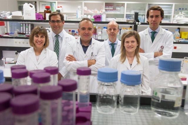 Investigadores de la Universidad de Navarra.