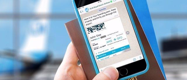 KLM, Whatsapp Business