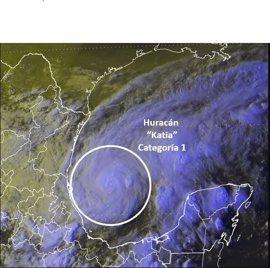 El presidente Peña Nieto activa el Plan MX ante la inminente llegada del huracán 'Katia'