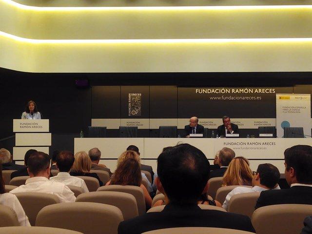 Carmen Vela, en jornada de la III Reunión de Diplomacia Científica