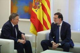 Puig destaca la voluntad política de Rajoy para reformar este año el sistema de financiación autonómica
