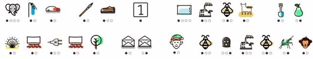 Alfabeto Iconify de Educo para concienciar sobre el analfabetismo