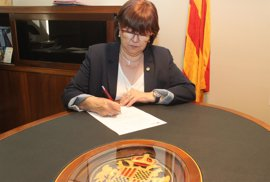Alcaldes independentistas de Lleida cuelgan en las redes su apoyo al referéndum