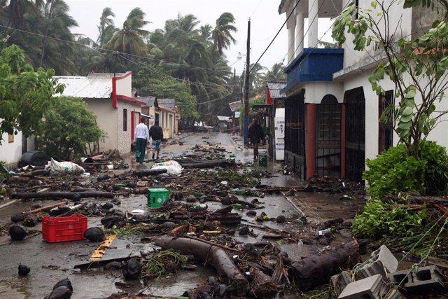 Efectos del huracán 'Irma' en República Dominicana
