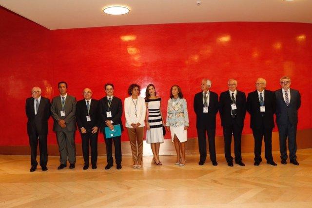La Reina preside el acto previo al Congreso Mundial sobre Oncología Médica