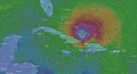 El huracán Irma afecta al norte de Cuba y se desplaza hacia Florida