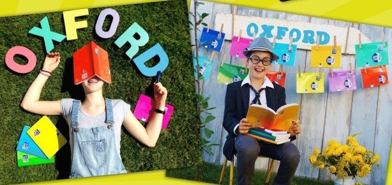 Cuadernos Oxford: prepara la vuelta al cole con su nueva gama de productos