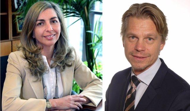 Eva Piera y Jonas Jonsson