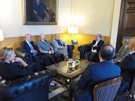 El Gobierno de Aragón garantizará por ley el diálogo social en la Comunidad