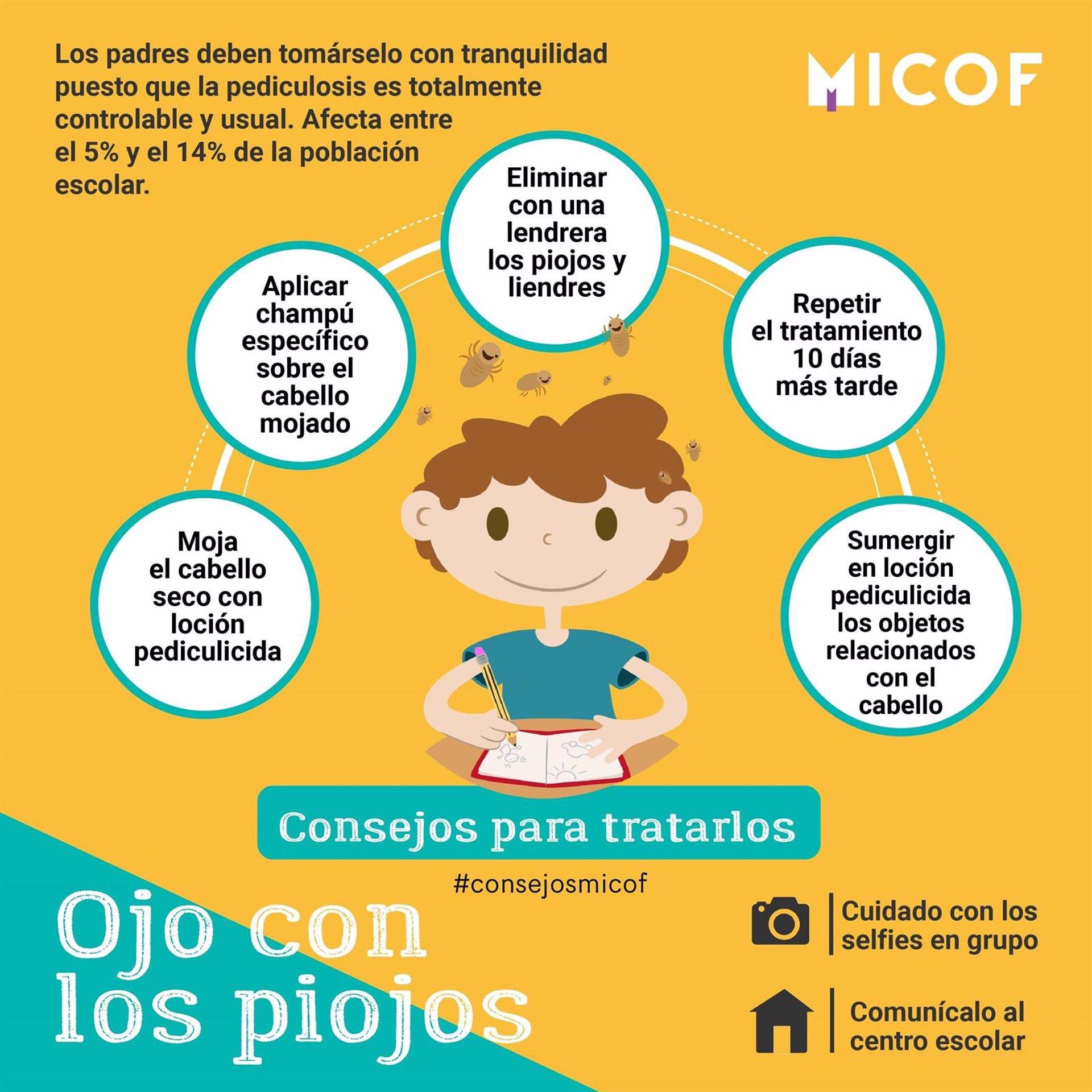 Los farmac uticos valencianos lanza la campa a ojo con for Piojos piscina
